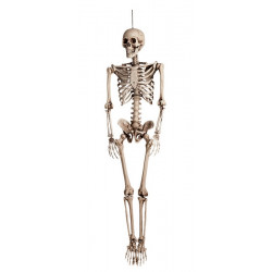 Squelette articulé à suspendre 160 cm Halloween Déco festive 74515