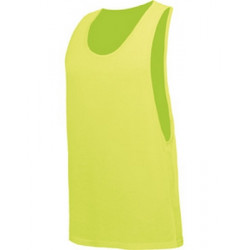 T-shirt débardeur jaune fluo UV adulte Accessoires de fête TABU-JAUNE