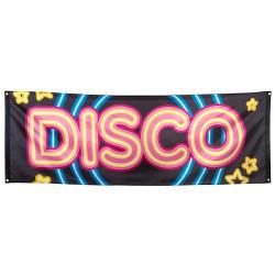 Bannière disco 220 cm Déco festive 753