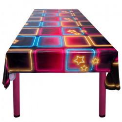 Nappe plastique disco fever 130 x 180 cm Déco festive 763