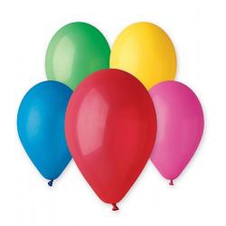 Ballons x 100 diamètre 30 cm multicolores Déco festive BA19100/MULTI