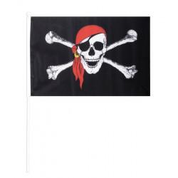 Drapeau pirate 48x31 cm Déco festive GU48148