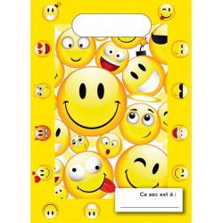 Sachets cadeaux Emoji x 6 Déco festive GEMODFSBEM