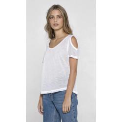 T-shirt Cute blanc femme Accessoires de fête CUTE-BLANC