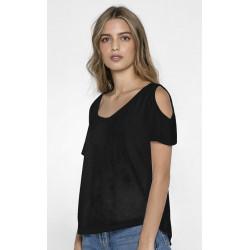 T-shirt Cute noir femme Accessoires de fête CUTE-NOIR