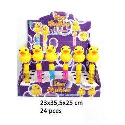 Bulles de savon canard bruiteur 23 cm vendu par 24 Jouets et articles kermesse 22238-LOT