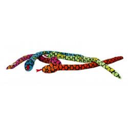 Peluche serpent 63 cm Jouets et articles kermesse 4209