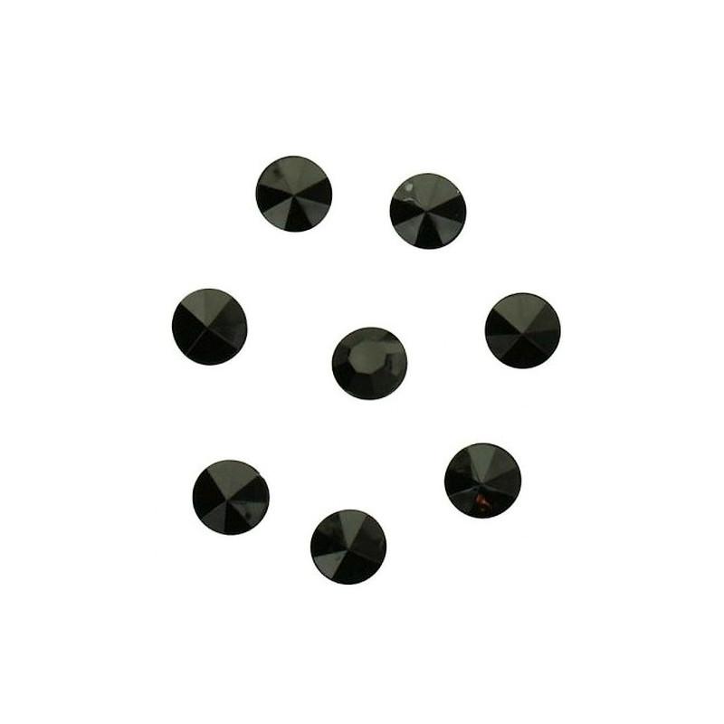 Sachet 100 diamants noirs décoration festive Déco festive 1151NO