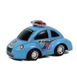 Voiture de police coccinelle 22 cm friction /N/ Jouets et articles kermesse 7552