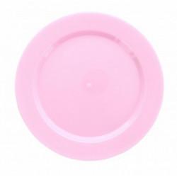 Assiettes Maje plastique rose 6 pièces 19 cm Déco festive 2448RO