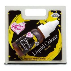 Colorant liquide alimentaire 16 ml jaune Cake Design RD5065