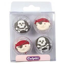 Décoration en sucre Culpitt pirates Cake Design C325A