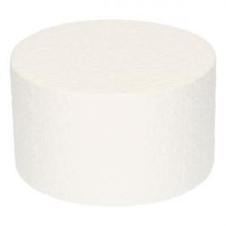 Support Dummy polystyrène gâteau rond 7x10cm Cake Design FC310RD