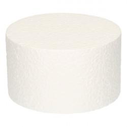 Support Dummy polystyrène gâteau rond 7x15cm Cake Design FC315RD