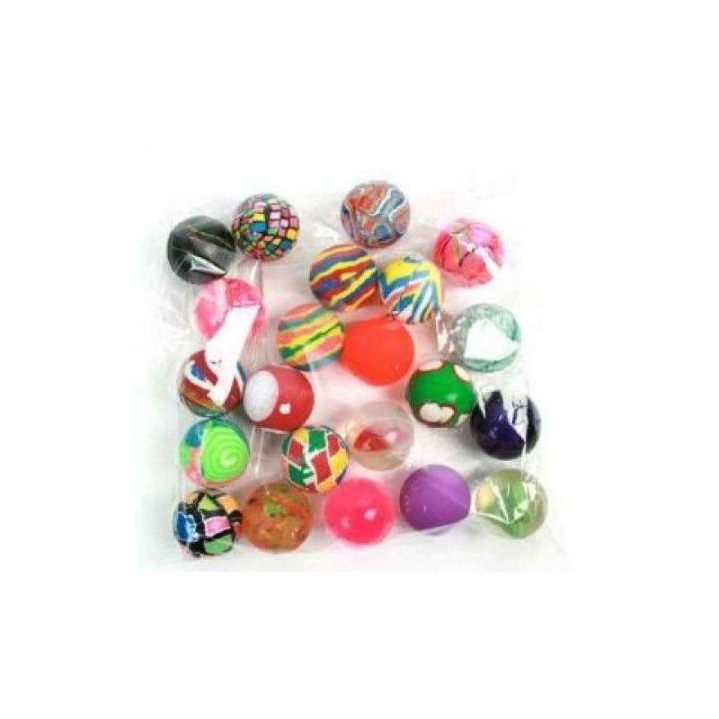 Balle super rebondissante 36 mm vendue par 48 Jouets et articles kermesse 22368-LOT
