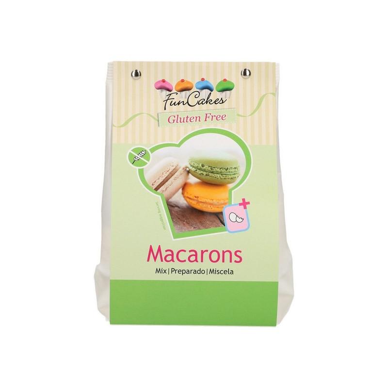 Préparation FunCakes pour macarons sans gluten 300g Cake Design FC86455