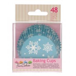 Caissettes à cupcakes hiver x 48 Cake Design FC4018