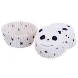 Caissettes à cupcakes Panda x 50 Cake Design LLC102
