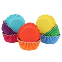 Caissettes à cupcakes arc en ciel x 100 Cake Design BC951