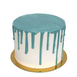 Glaçage liquide chocolat bleu 150 g Cake Design DS402