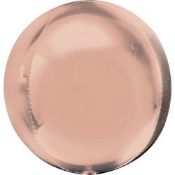 Ballon alu ORBZ 40 cm - Rose doré Déco festive 3618101