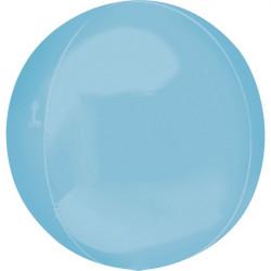Ballon alu ORBZ 40 cm - bleu pastel Déco festive 3911199