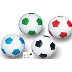 Balle de foot rebondissante 32 mm. Vendue par 48 Jouets et kermesse 22528-LOT