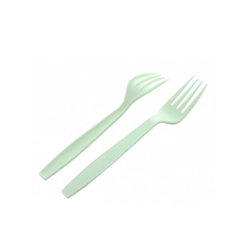 Fourchettes 25 pcs fibre de canne à sucre Déco festive 2499BL