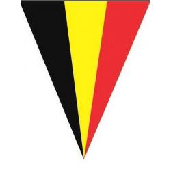 Guirlande 10 fanions supporter Belgique 5 m Déco festive E62185