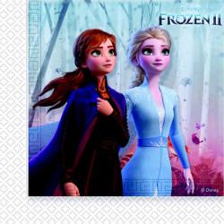 Serviettes anniversaire La Reine des Neiges 2™ x 20 Déco festive LFRZ91128