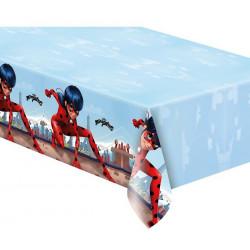Nappe anniversaire plastique Miraculous Ladybug ™ Déco festive LMIR91347