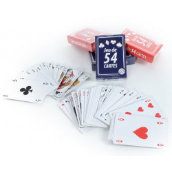 Jeu de cartes à jouer 54 cartes Jouets et articles kermesse 144632