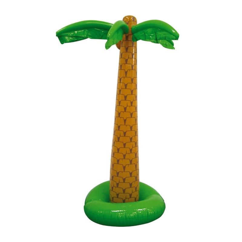 Palmier gonflable 180 cm Déco festive 07491