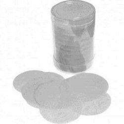 Confettis de scène rond argent Déco festive 22609AR