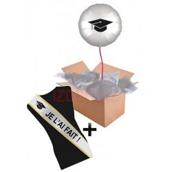 Box Surprise Graduate avec écharpe personnalisable Accueil BOX-GRADUATE