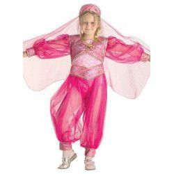 Déguisement danseuse orientale rose fille 11/14 ans Déguisements 22612
