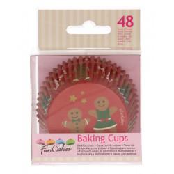 Caissettes à cupcakes pain d'épice x 48 Cake Design FC4206