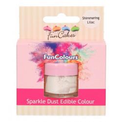 Poudre alimentaire scintillante lilas chatoyant - Cake Design FC50940