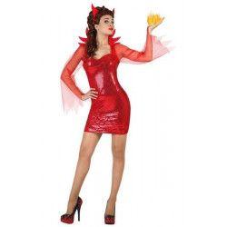Déguisement diable disco femme taille M-L Déguisements 22661