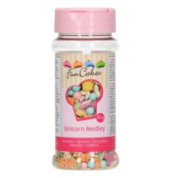 Medley paillettes FunCakes 50 g Licorne Cake Design G41074