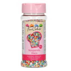 Mini perles sucre multicolores FunCakes 80 g Cake Design G42562