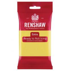 Pâte à sucre extra Renshaw 250 g jaune pastel Cake Design R02868