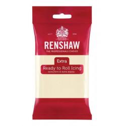 Pâte à sucre extra Renshaw 250 g goût chocolat blanc Cake Design R02871