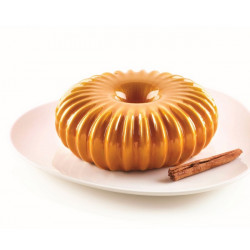Moule silicone motifs à rayons 3D Raggio Silikomart 20 cm Cake Design S3D20362