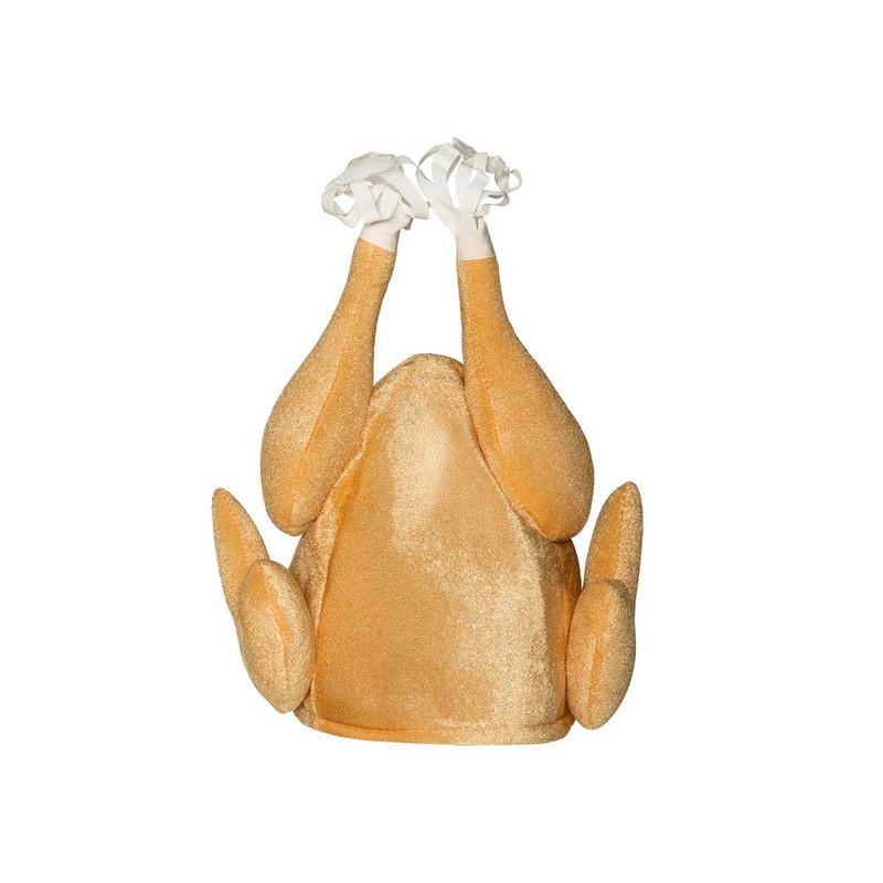 Chapeau poulet rôti adulte Accessoires de fête 99935