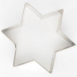 Biscuits emporte pièce étoile 8 cm Cake Design K030108