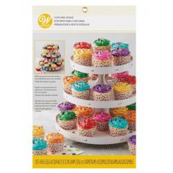 Présentoir cupcakes 3 étages Wilton Cake Design 1512-127