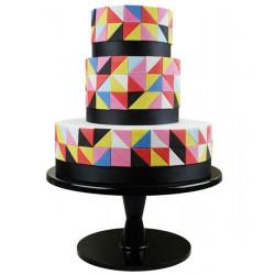 Emporte-pièce plastique géométrique angle droit Cake Design GMC121