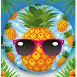 Ballon alu 45 cm ananas Déco festive 36500-19
