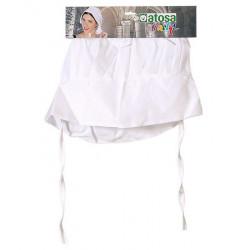 Coiffe blanche servante adulte Accessoires de fête 34963